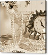 Vintage Dressing Table Acrylic Print