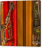 Vintage Gas Pump Nozzle Acrylic Print