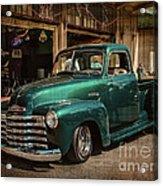 Vintage Green Dream Acrylic Print