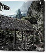 Vintage Hawaii Acrylic Print
