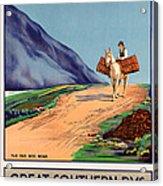 Vintage Ireland Travel Poster Acrylic Print