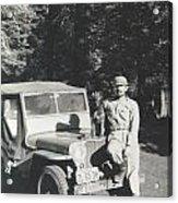 Vintage Jeep Acrylic Print