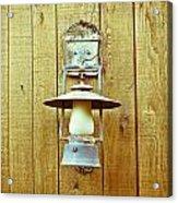 Vintage Lamp Acrylic Print