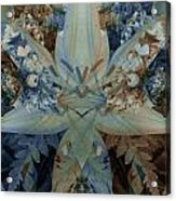 Vintage Lily Acrylic Print