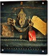 Vintage Luggage Acrylic Print