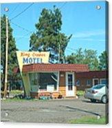 Vintage Motel Acrylic Print