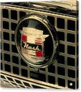 Vintage Nash Auto Grill Acrylic Print
