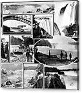 Vintage Niagara Falls Acrylic Print