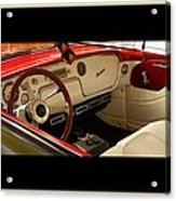 Vintage Packard Interior Acrylic Print