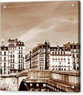 Vintage Paris 8 Acrylic Print