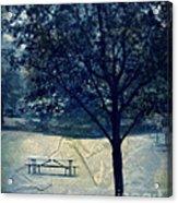 Vintage Park Acrylic Print
