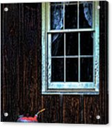 Vintage Porch Window And Gas Can Acrylic Print