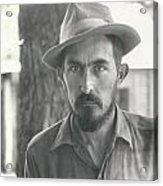 Vintage Portrait Acrylic Print