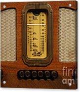 Vintage Radio Acrylic Print