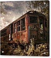 Vintage Rail Car Acrylic Print