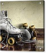 Vintage Roller Skates  Acrylic Print by Carlos Caetano