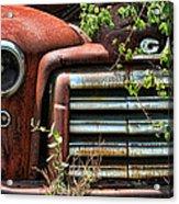 Vintage Rusty Dusty Gmc Graveyard Truck Acrylic Print