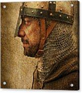 Vintage Soldier Acrylic Print