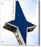 Vintage Star Sign Acrylic Print