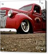Vintage Style Hot Rod Truck Acrylic Print