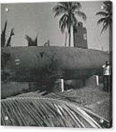 Vintage Submarine Acrylic Print
