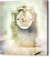 Vintage Train Engine Acrylic Print