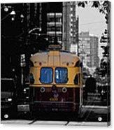 Vintage Trolley Acrylic Print