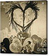 Vintage Valentine  Acrylic Print