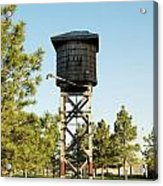 Vintage Water Station Acrylic Print