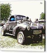 Vintage Willys Gasser Acrylic Print