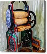 Vintage Wringer Acrylic Print