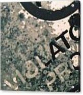 Violators Acrylic Print