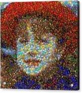 Violet Gumballs Acrylic Print