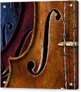 Violin Composition Acrylic Print
