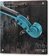 Violinelle - Turquoise 05a2 Acrylic Print