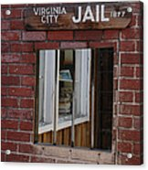 Virginia City Nevada Jail Acrylic Print
