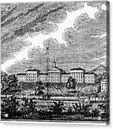 Virginia: College, 1856 Acrylic Print