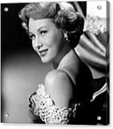 Virginia Mayo, Ca. Early 1950s Acrylic Print by Everett
