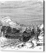 Virginia: Salt Mine, 1857 Acrylic Print