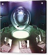 Virtual Office Acrylic Print