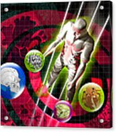 Virtual Reality Surgery Acrylic Print by Victor Habbick Visions