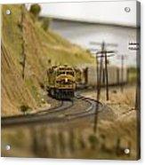 Virtual Slow Climb Acrylic Print