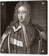 Viscount Bolingbroke, English Statesman Acrylic Print
