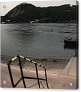 Visegrad Hill With Danube Acrylic Print