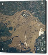 Vistula River Flooding, Southeastern Acrylic Print by NASA/Science Source