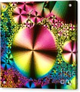 Vitamin B1 Crystal Acrylic Print
