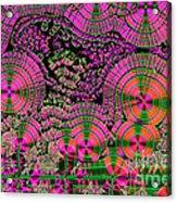 Vitamin C Crystals Spikeberg Acrylic Print