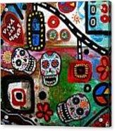 Viva Tres Muertos Acrylic Print