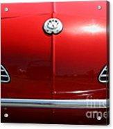 Volkswagon Karmann Ghia . 7d15469 Acrylic Print