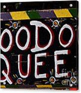 Voodoo Queen Acrylic Print